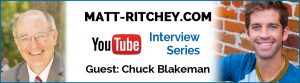 Video Interview with Best Selling Author, Chuck Blakeman