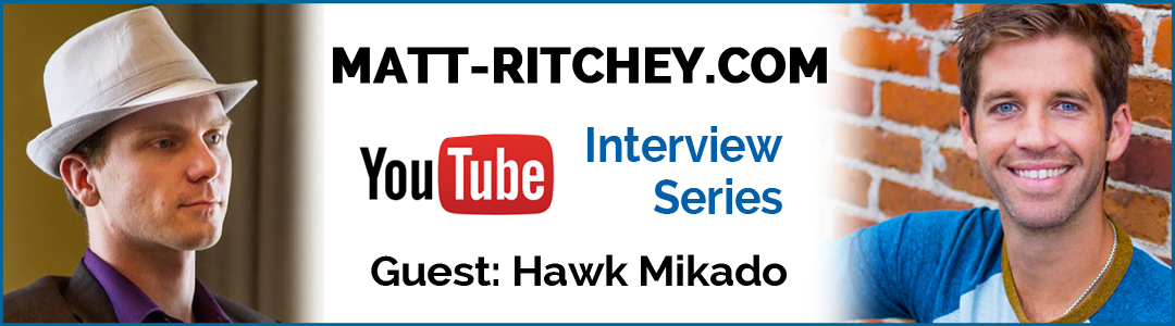 Video Interview: How To Build Wealth With Your Story, by Hawk Mikado